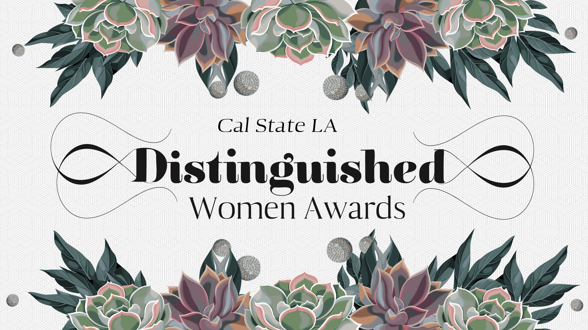 Distinguished Women Award Cover